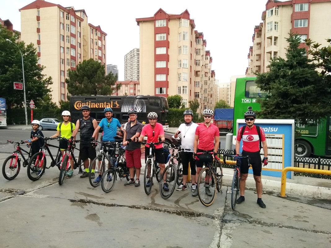 Bahçeşehir Bisiklet Hastanesi Bahçeşehir - Yassıören Bisiklet Turu