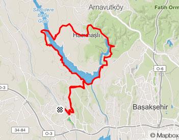 Strava - Bahçeşehir – Sazlıbosna – Şamlar Dağ Bisikleti Turu